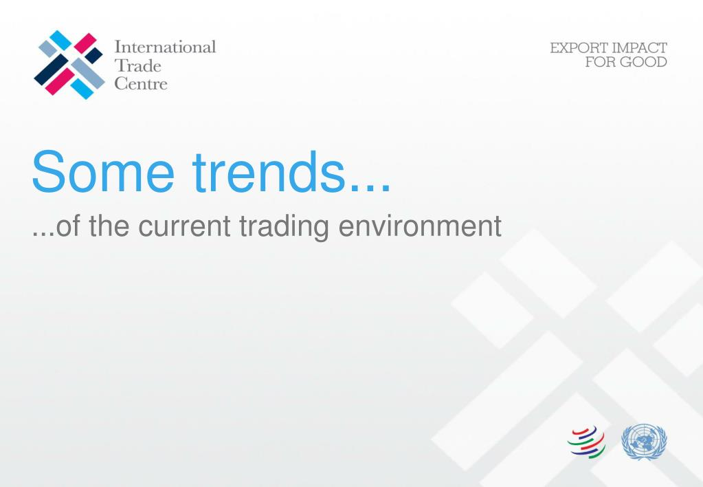 Some trends...