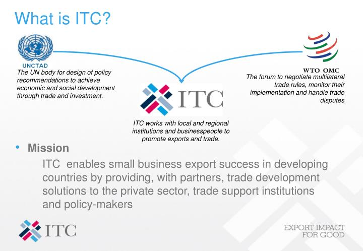 What is itc