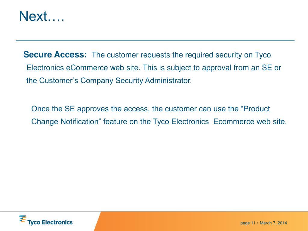 Secure Access: