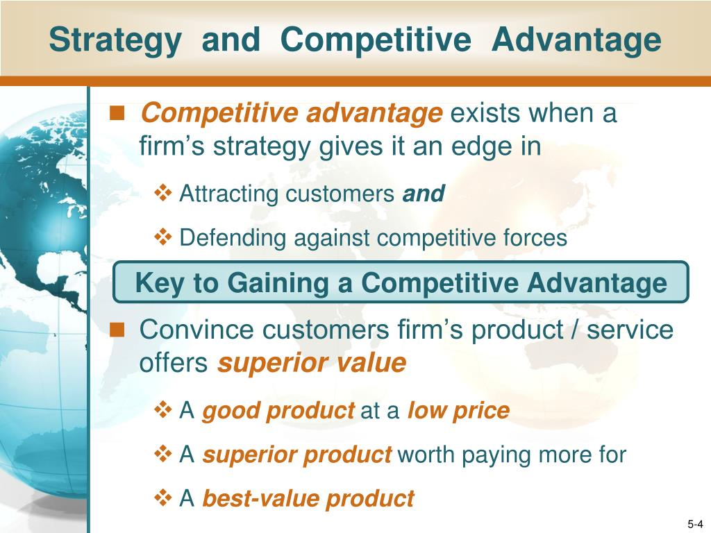 competitive strategy and competitive advantages Cost effectiveness is one of the solid bases of ikea competitive advantage the global furniture retailer is able to offer low prices thanks to a combination of economies of scale and technological integration into various business processes.