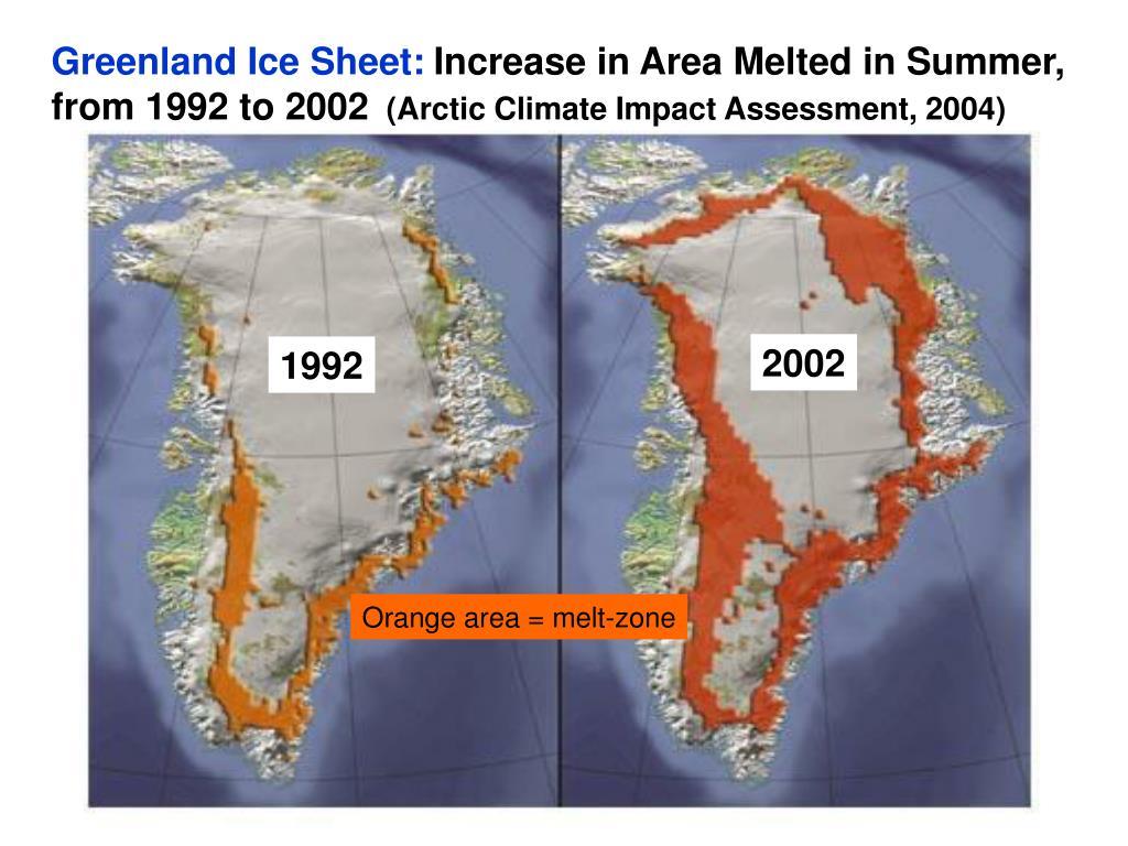 Greenland Ice Sheet: