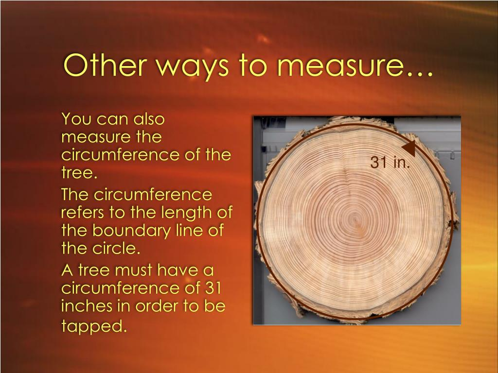 Other ways to measure…