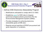 doe order 450 1 chg 2 environmental protection program