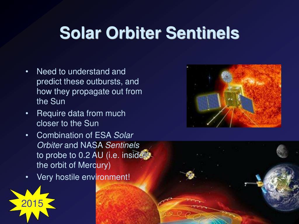 Solar Orbiter Sentinels