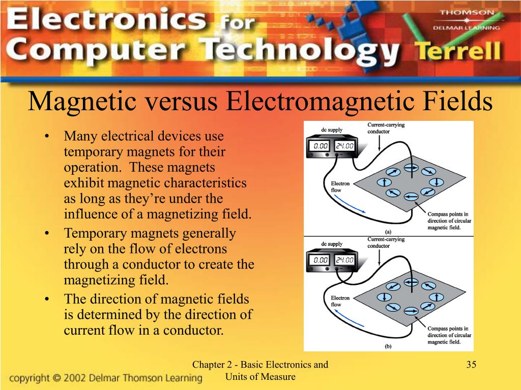 Magnetic versus Electromagnetic Fields