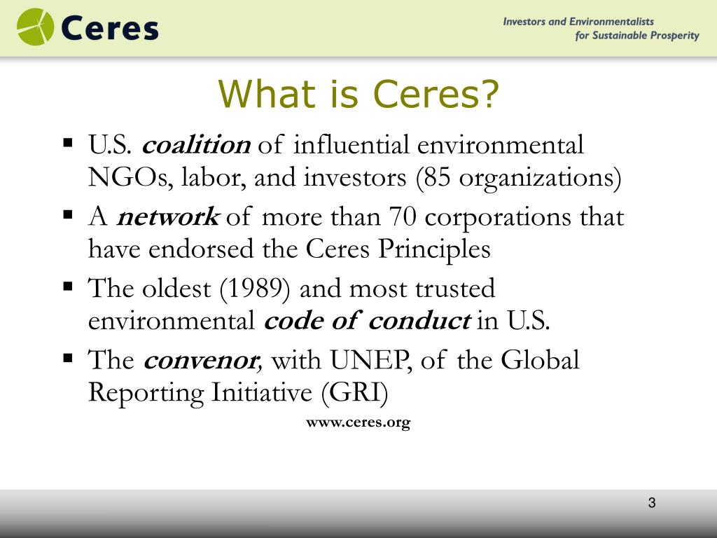 What is Ceres?