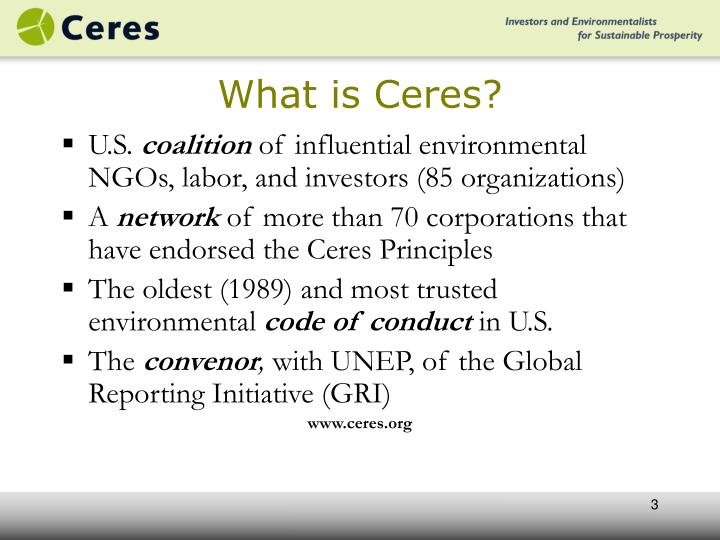 What is ceres