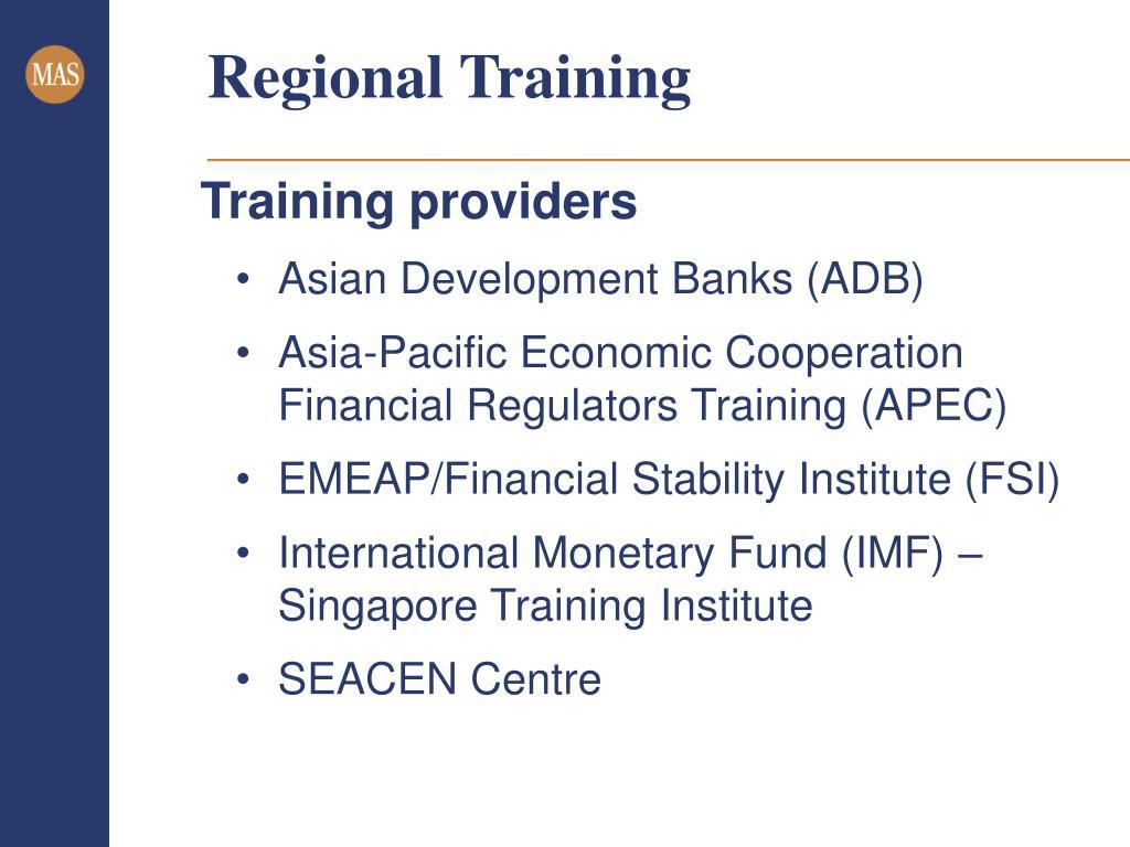 Regional Training