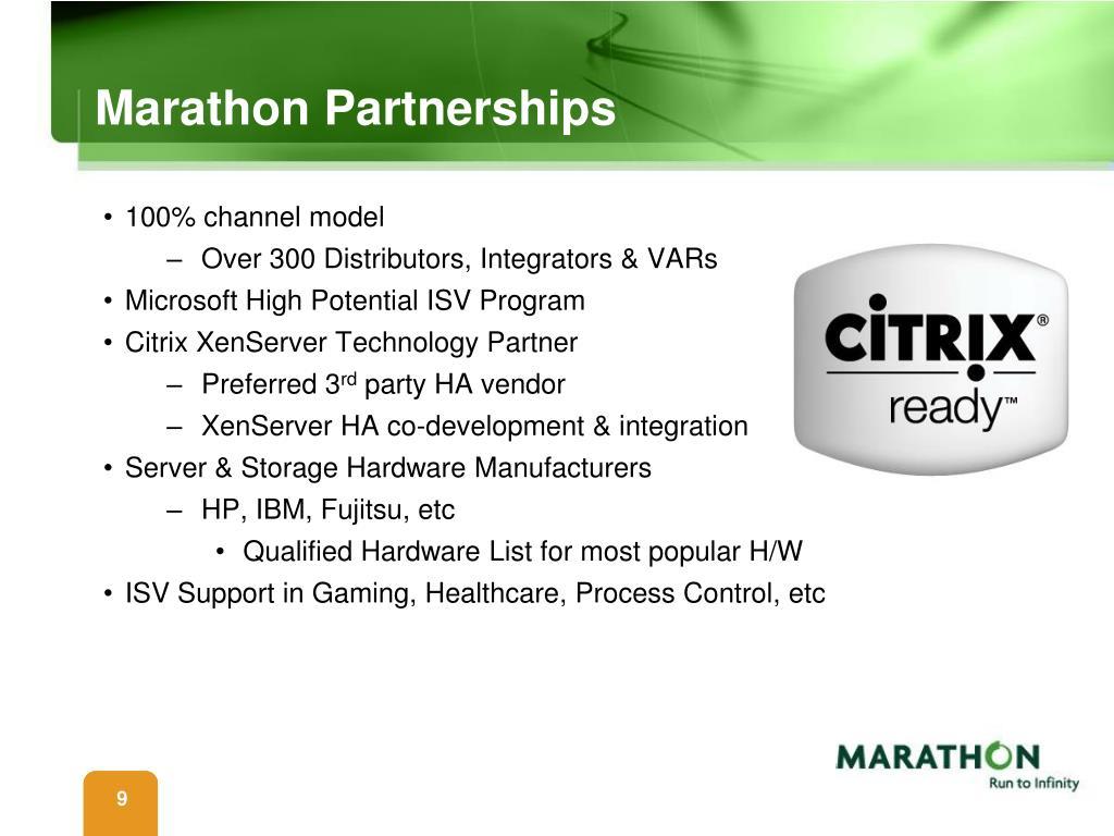 Marathon Partnerships