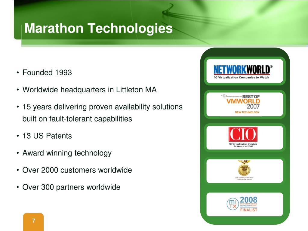 Marathon Technologies