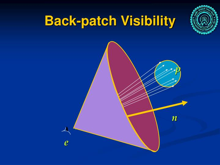 Back-patch Visibility