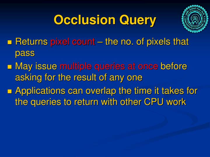 Occlusion Query
