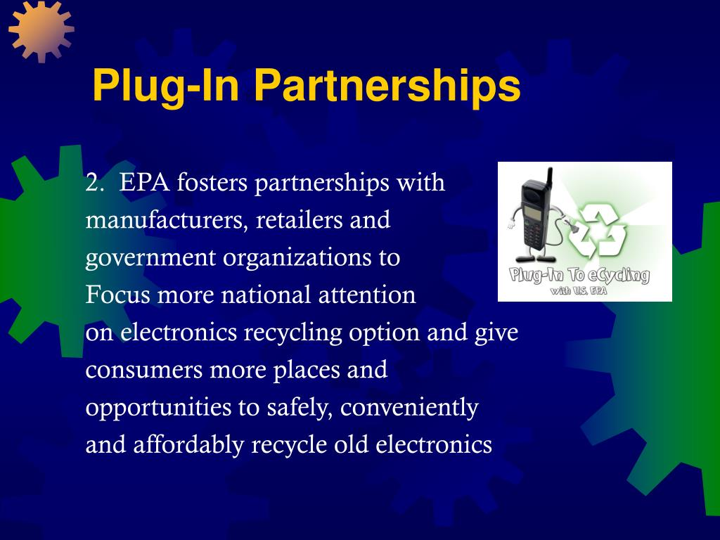 Plug-In Partnerships