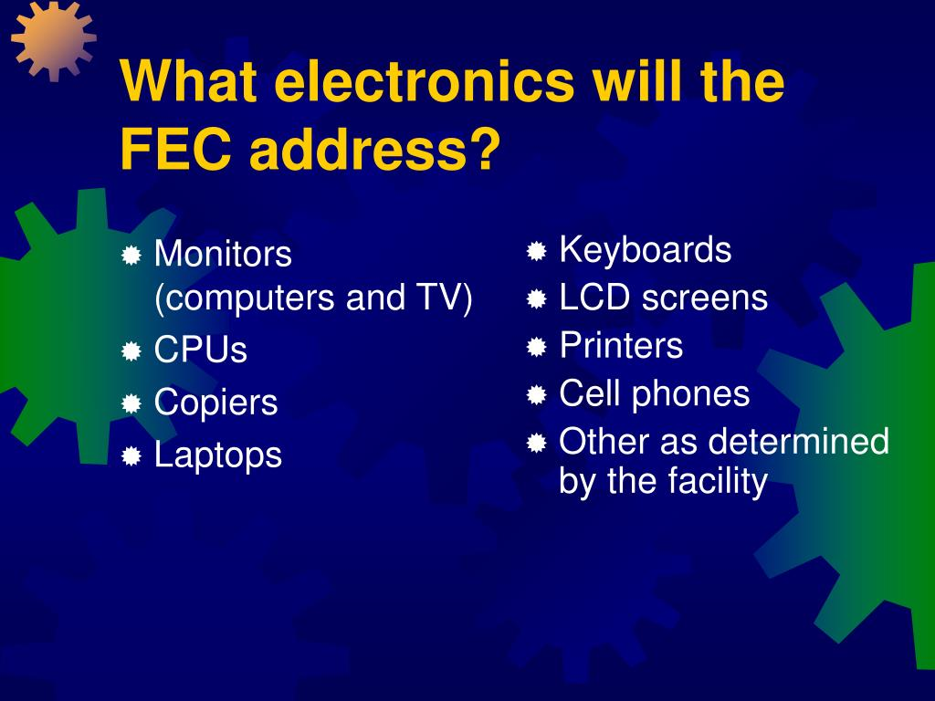 Monitors       (computers and TV)