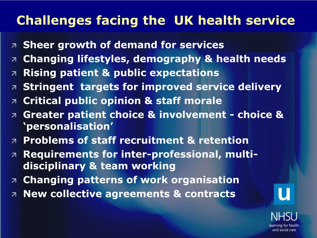challenges facing marketers in healthcare services Why do services pose unique challenges to marketers  healthcare reform  capital/funds this is by far the greatest of all challenges facing entrepreneurs.
