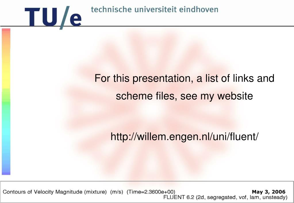 For this presentation, a list of links and scheme files, see my website
