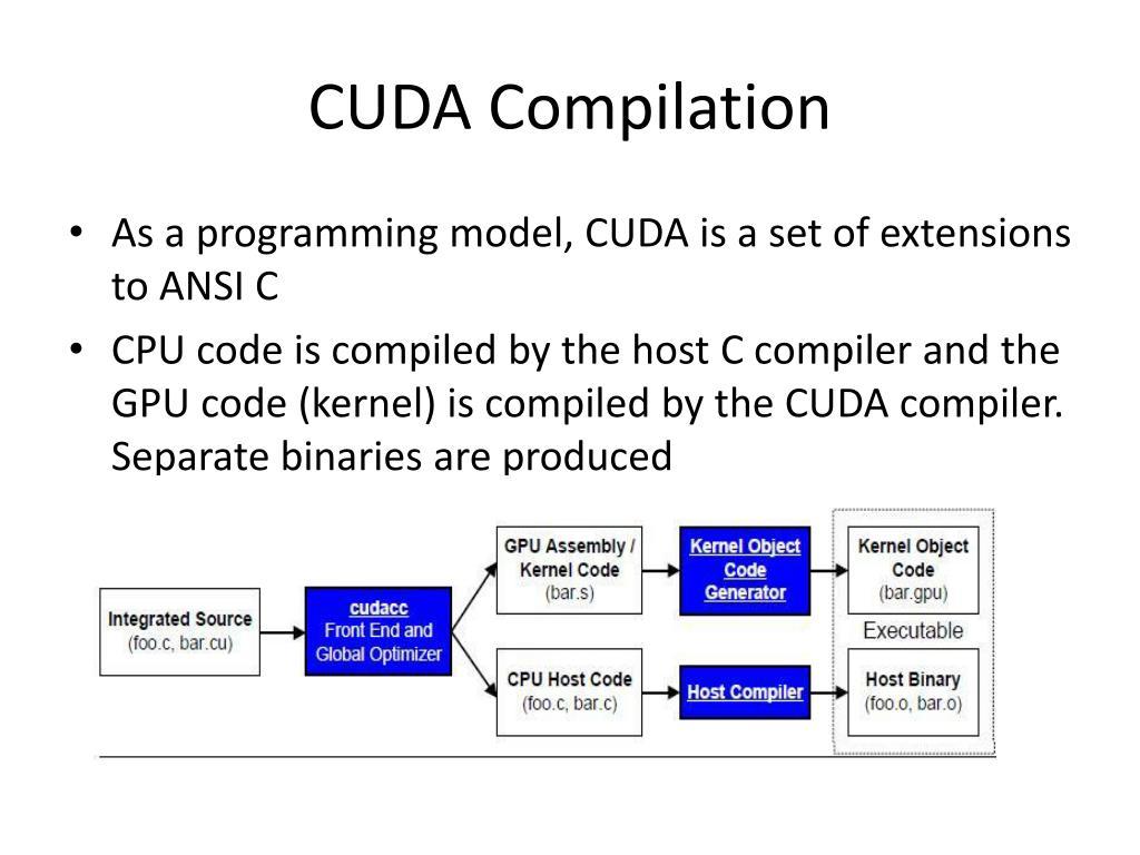 CUDA Compilation