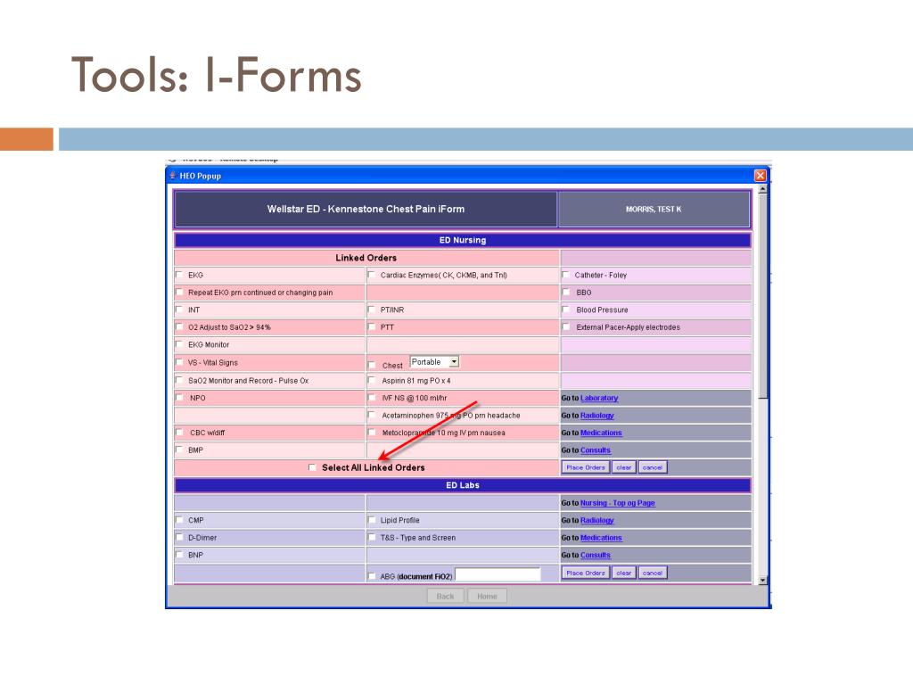 Tools: I-Forms