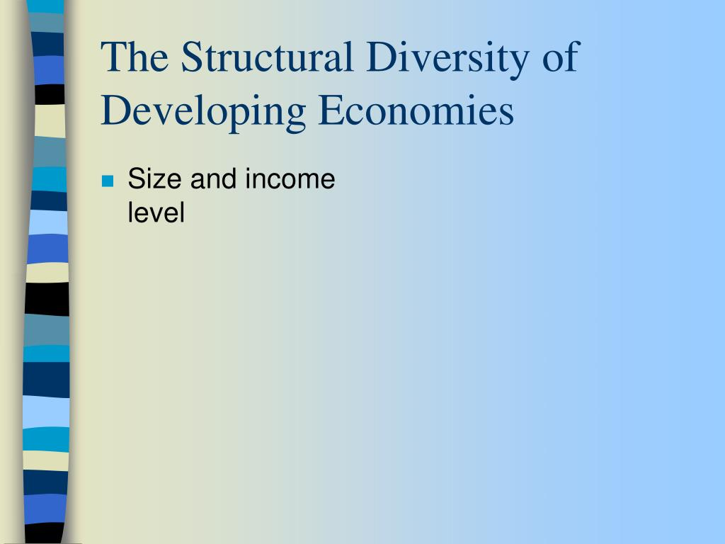 Size and income level