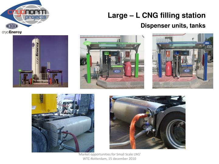 Large – L CNG filling station