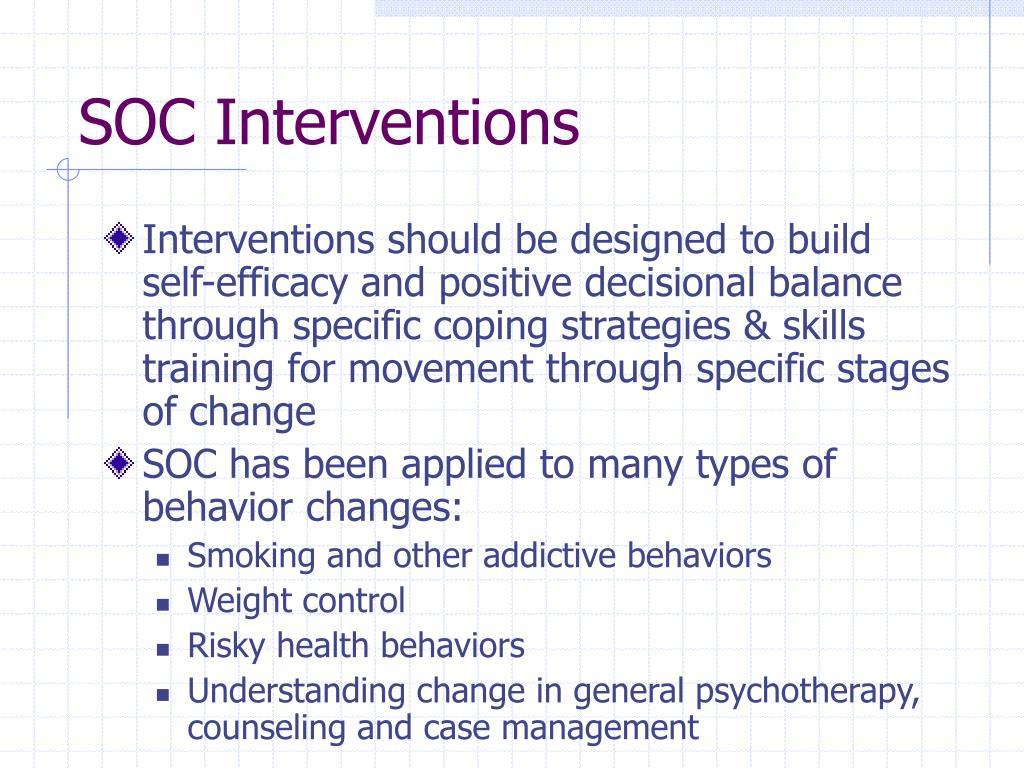 SOC Interventions