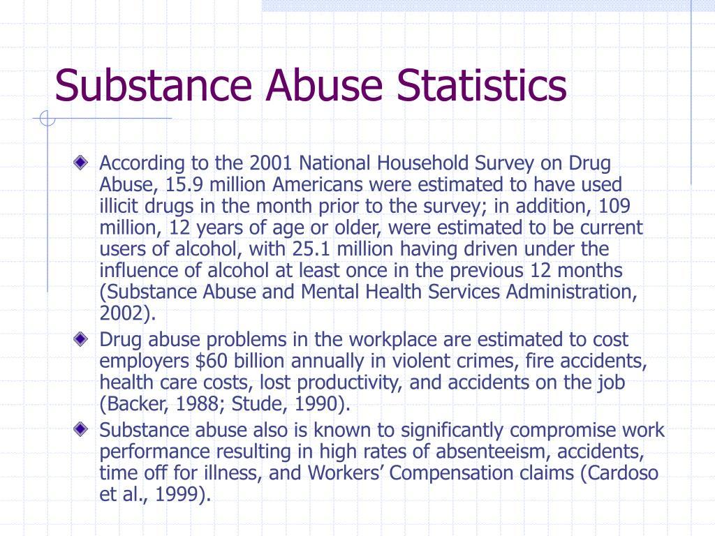 Substance Abuse Statistics