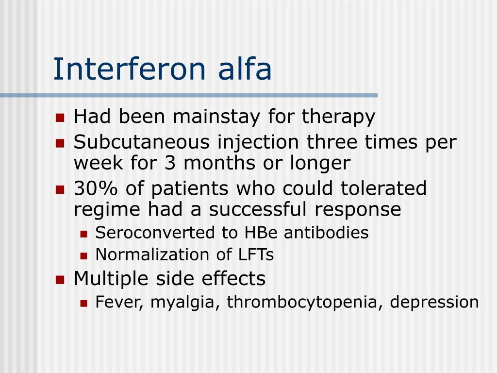 Interferon alfa
