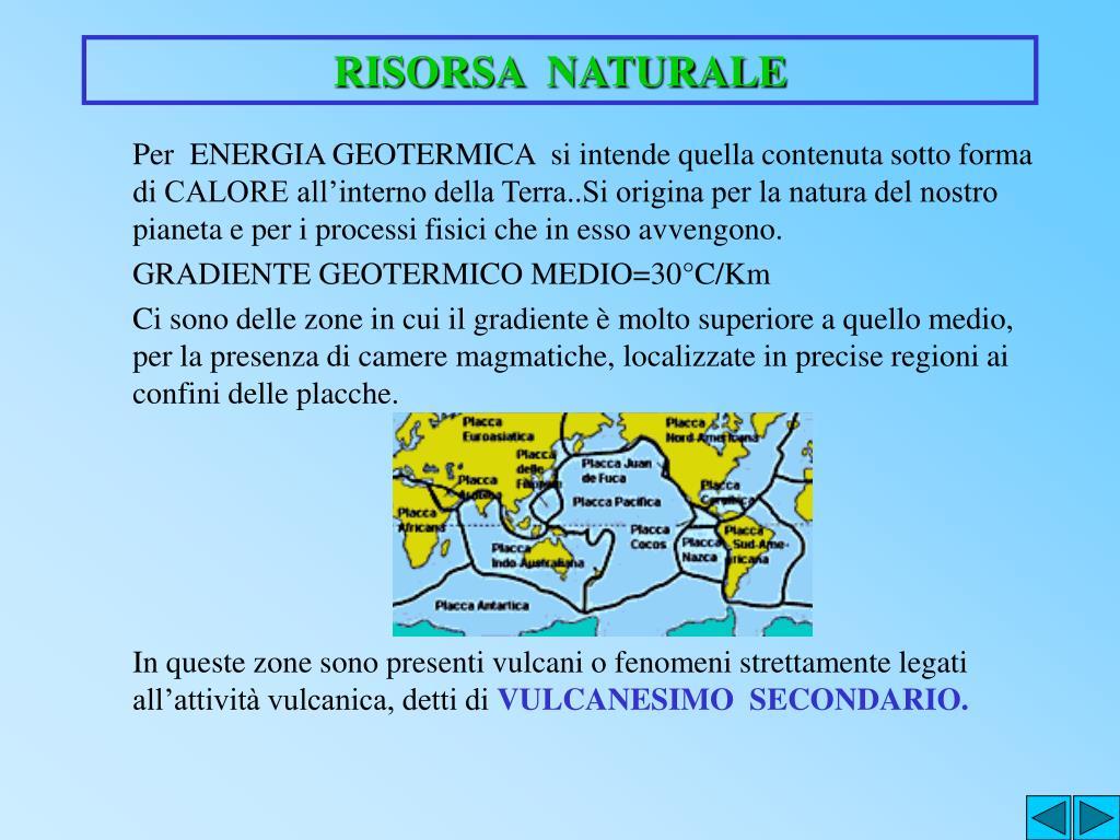 RISORSA  NATURALE
