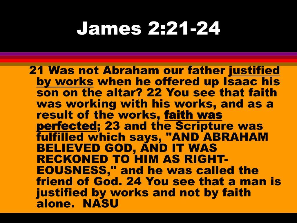 James 2:21-24