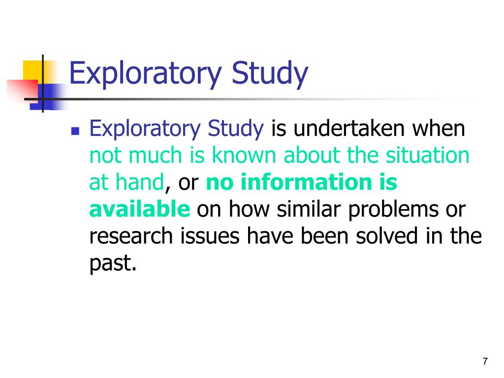 definition of exploratory research Definition of exploratory in the legal dictionary exploratory center for obesity research exploratory climate land assessment and impact management.