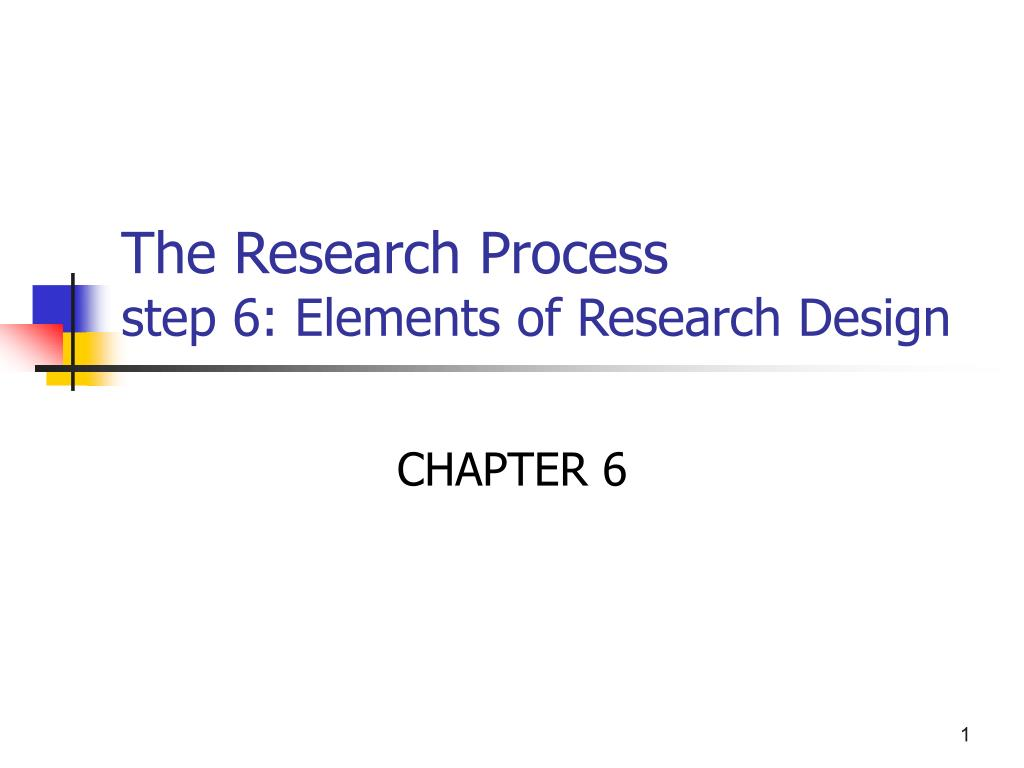 elements of research design A research design is the set of methods and procedures used in collecting and  analyzing measures of the variables specified in the research problem research.