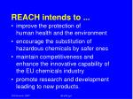 reach intends to