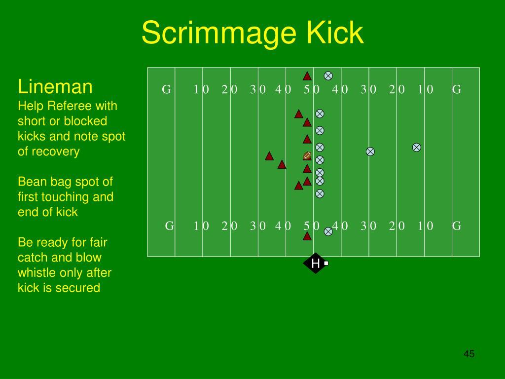 Scrimmage Kick