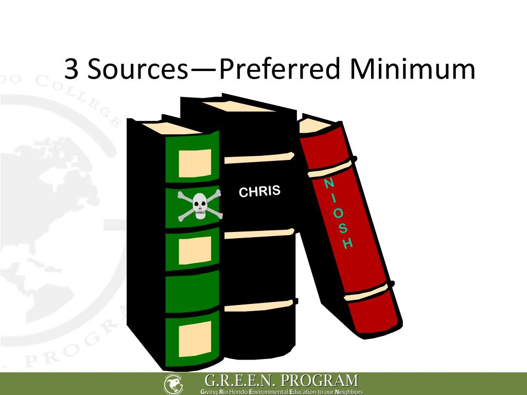 3 Sources—Preferred Minimum