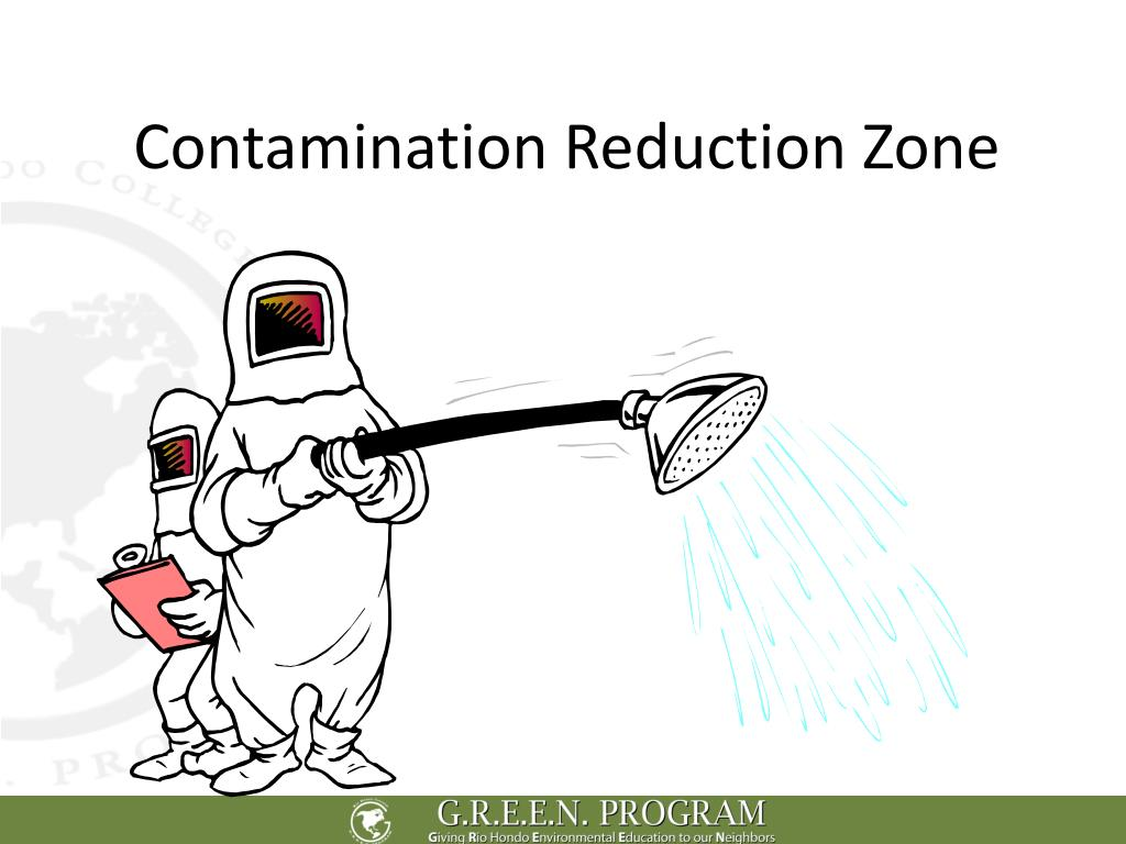 Contamination Reduction Zone