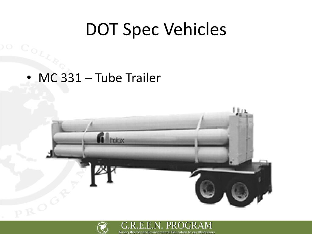 DOT Spec Vehicles