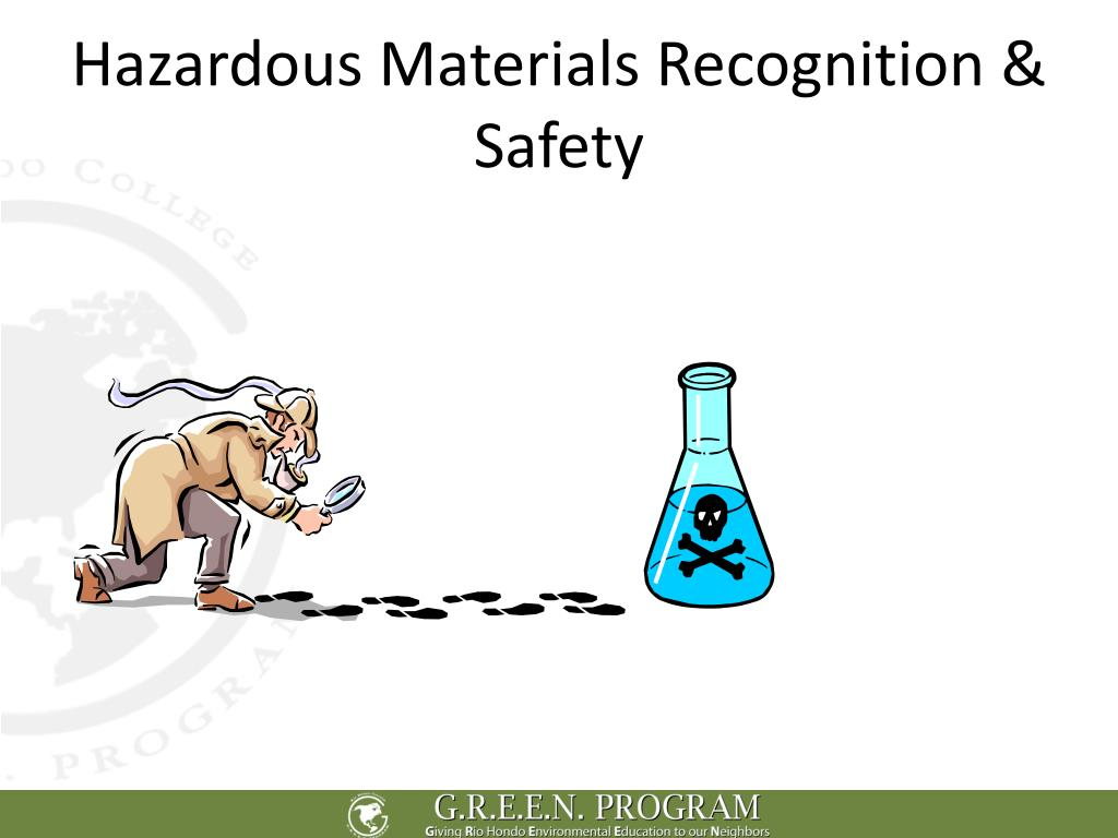 Hazardous Materials Recognition & Safety