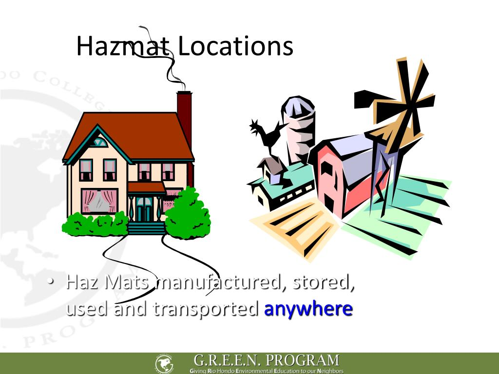 Hazmat Locations