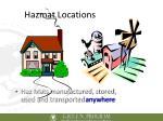 hazmat locations