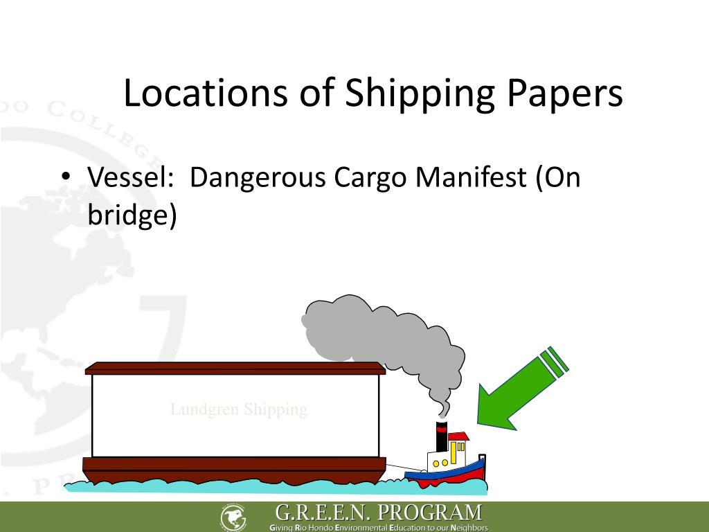 Lundgren Shipping