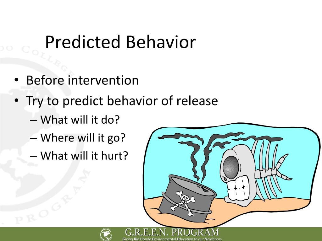 Predicted Behavior