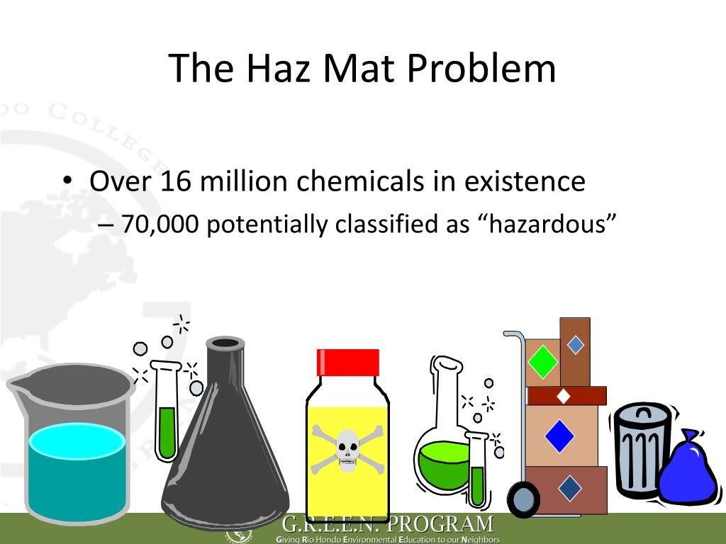 The Haz Mat Problem