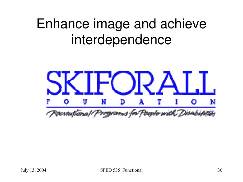 Enhance image and achieve interdependence