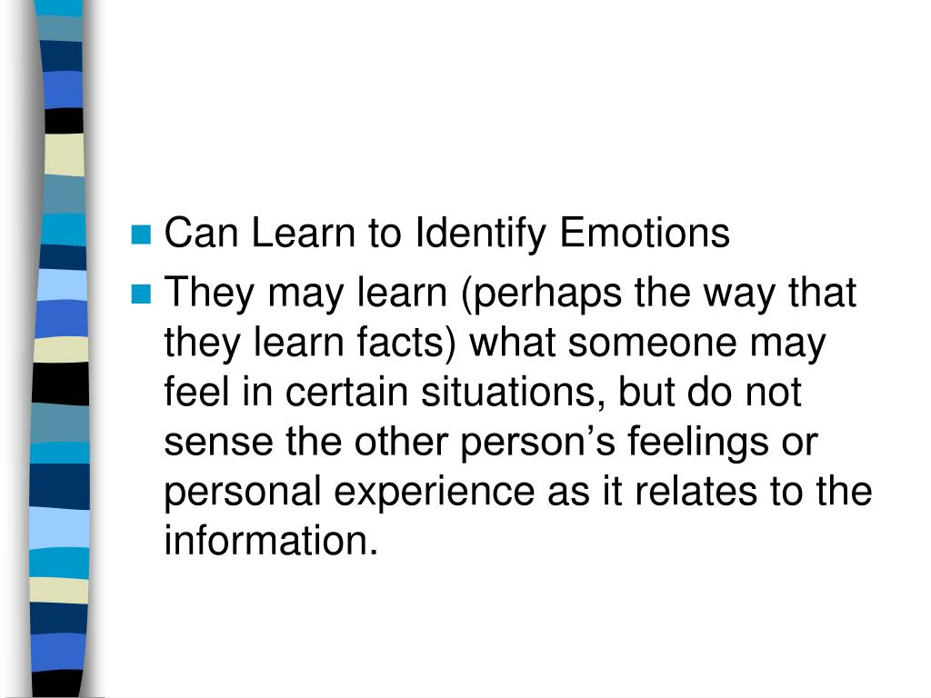 Can Learn to Identify Emotions