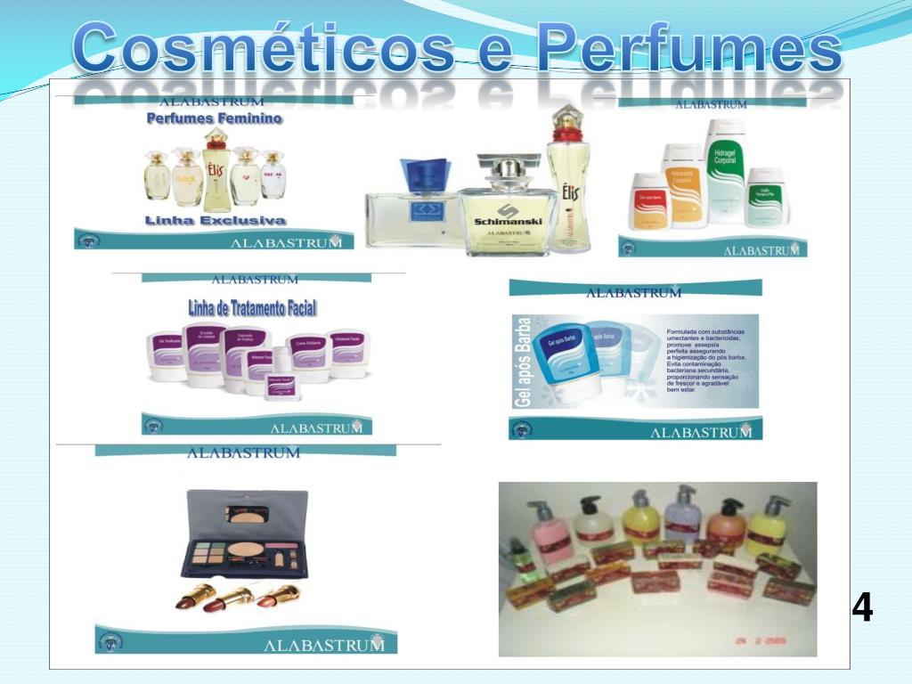Cosméticos e Perfumes