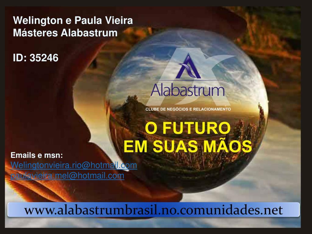 Welington e Paula Vieira     Másteres Alabastrum