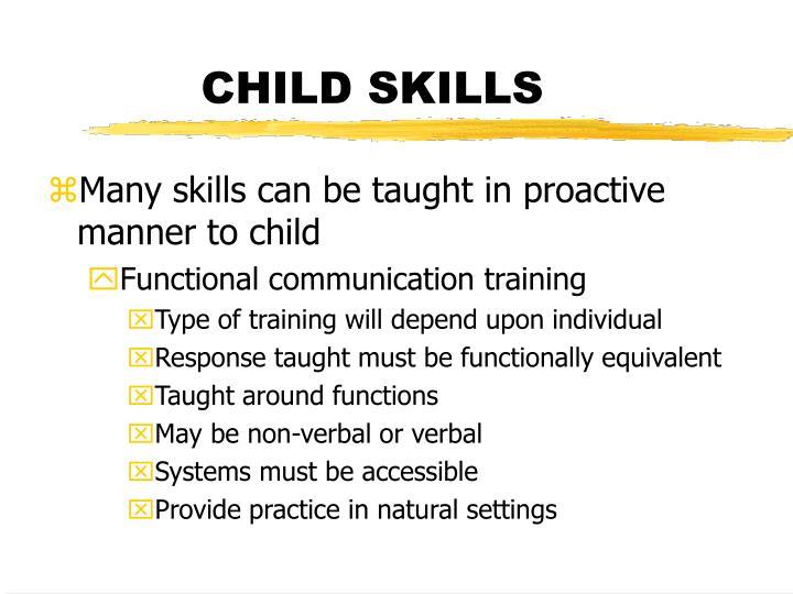 nonverbal communication and functional skills