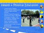 health physical education