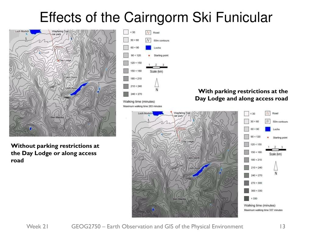 Effects of the Cairngorm Ski Funicular