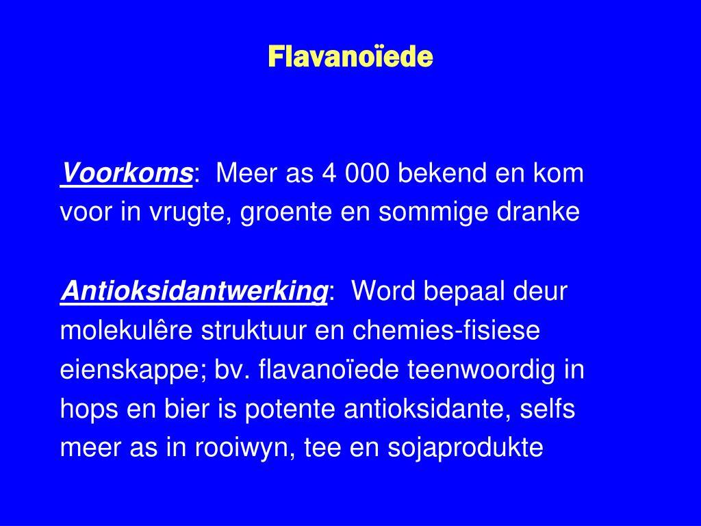 Flavanoïede